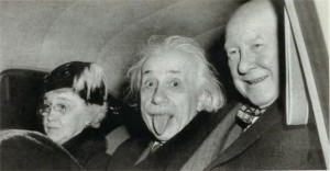 Albert Einstein in 1951