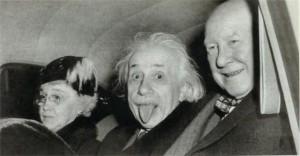 Albert Einstein in 1951