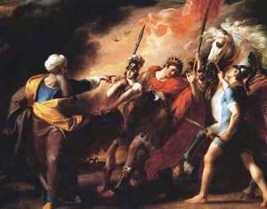 Первый в истории Майдан. «Самуил отрекается от Саула»